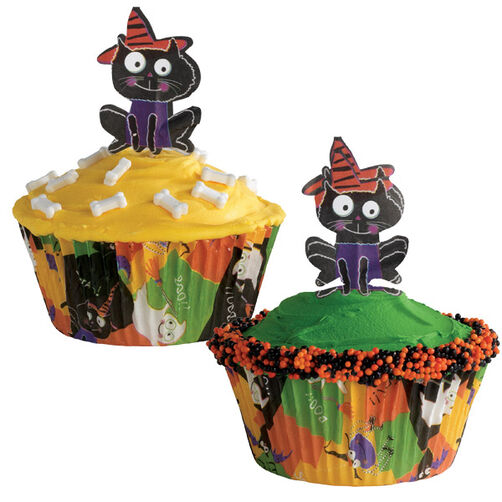 Cool Kitty Cupcakes