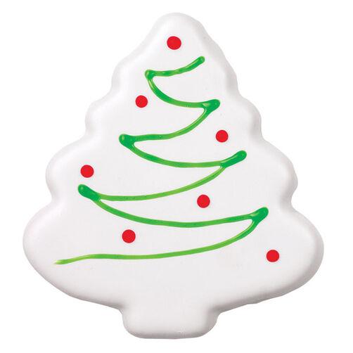 White Christmas Tree Cookie