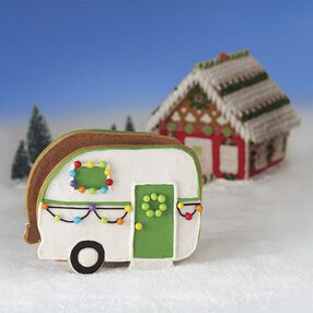 Love the Outdoors Gingerbread Camper Kit