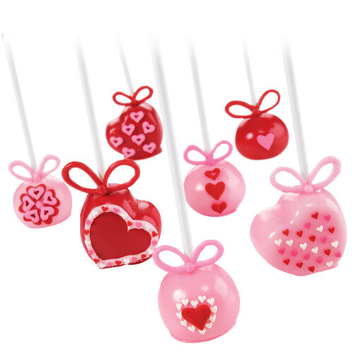 Hearts Abound Valentine's Day Cake Pops