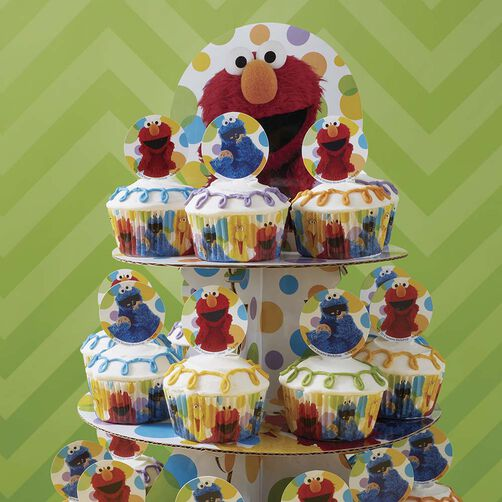 Simple & Fun Sesame Street Cupcakes