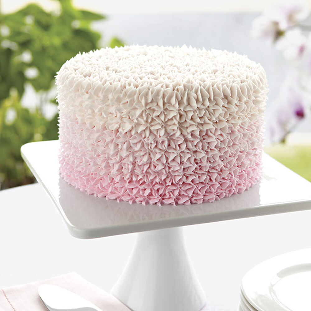 Sweetly Pink Star Cake Wilton