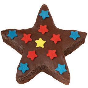 Shower of Stars Brownies