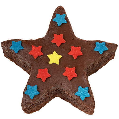 Shower of Stars Brownies