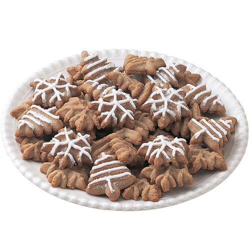 Cinnamon Apple Butter Spritz Cookies