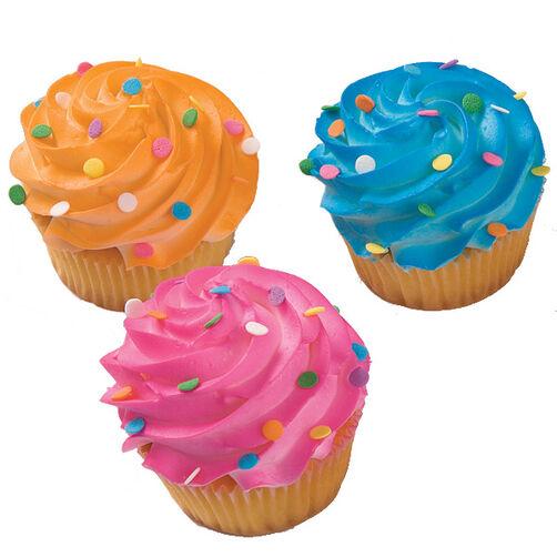 Confetti Extravaganza Cupcakes