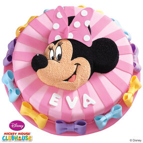 Minnie Mouse Birthday Bows Cake