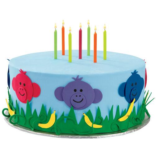 Monkey Business Birthday Cake
