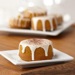 Pumpkin Spice Spool Cakes