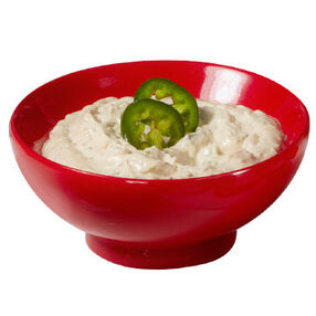 Fire Roasted Jalapeño Onion Dip