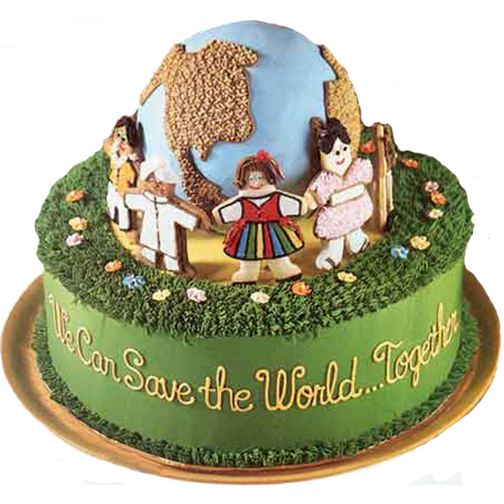 For The Good Earth S Sake Cake Wilton