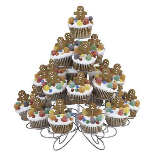 Gingerbread Jamboree Cupcakes