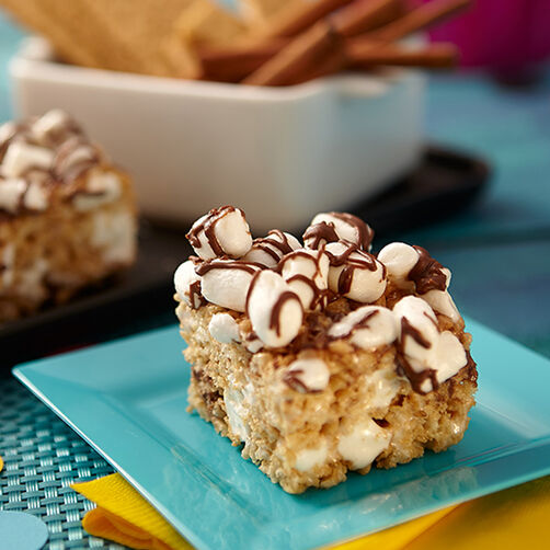 S'mores Cereal Treats