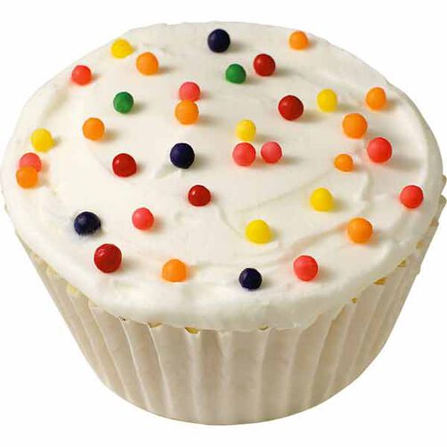 Jumbo Nonpareil Cupcakes