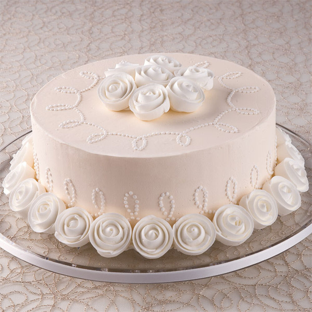 Wilton Buttercream Cake Decorating Ideas : Ivory Opulence Cake Wilton