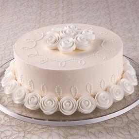 Ivory Opulence Cake