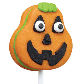 Silly Pumpkin Cookie Pop