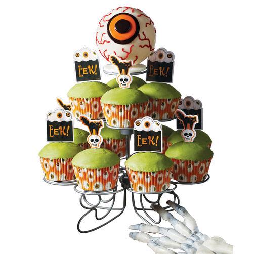 Evil Eye Cupcake Display