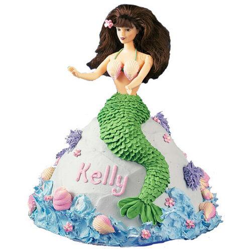Miss Mermaid Doll Cake Wilton