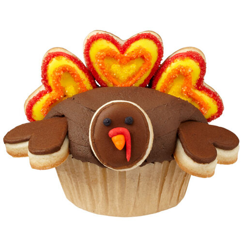Tom Turkey Cupcakes