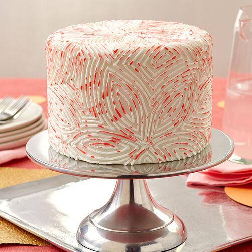 Cake Decorating Painting Icing : Petal Painting Fondant Cake