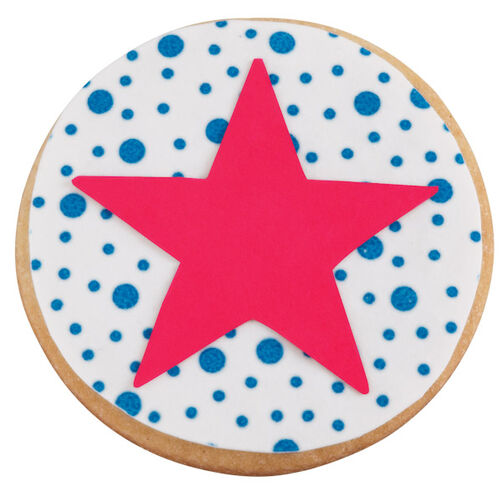 Patriotic Star Cookie