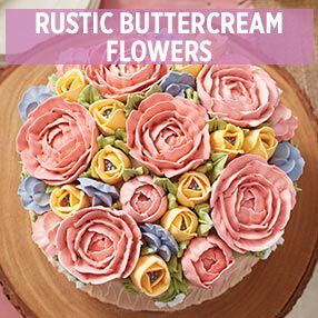 Rustic Buttercream Flowers