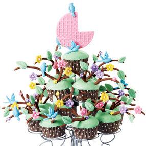 Family Tree Cupcake Display
