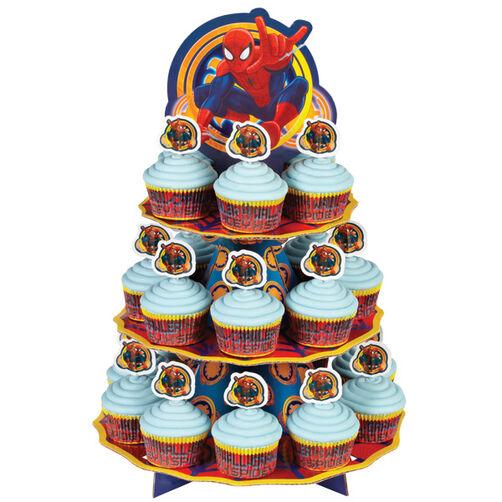 Spider-Man Cupcakes