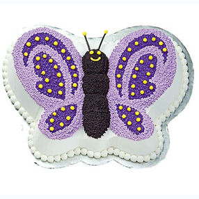 butterfly birthday cake template printable - butterfly cake pan wilton