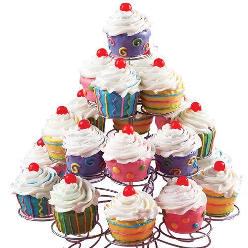 Pastel Carousel Cupcakes