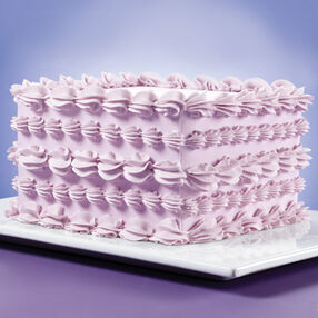 Rectangle Cake Decoration Ideas : How to Pipe a Shell Wilton
