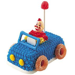 Funny Car Mini Cake