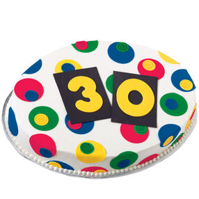 "The ""Big 3-0"" Birthday Cake"