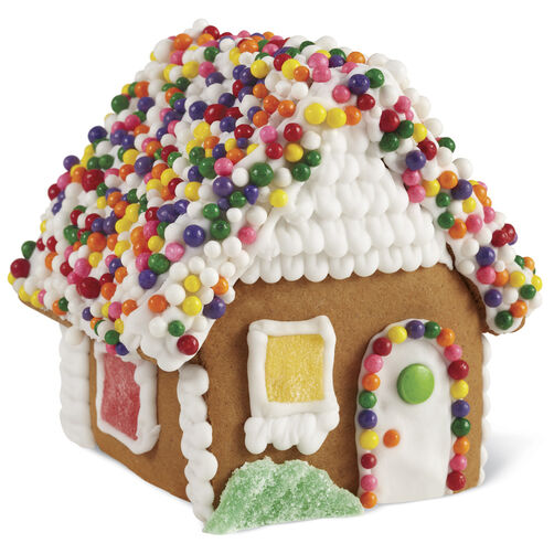 Small Classic Cottage Gingerbread House #7