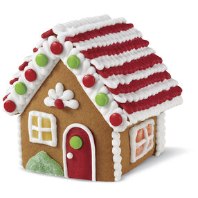 Small Classic Cottage Gingerbread House #4