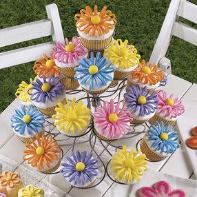 Puffed-Up Petals Cupcakes