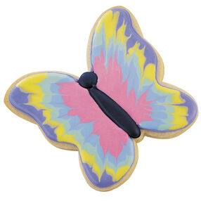 Wings In Watercolors Cookies
