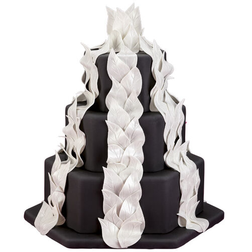 White Hot Splendor Cake