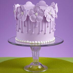 Violet Wild Rose Cake