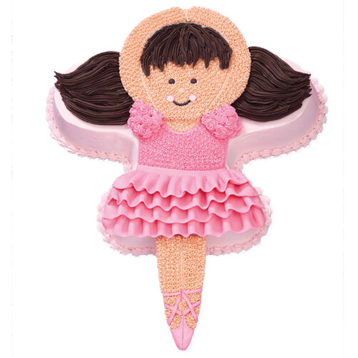Pink Pirouettes Ballerina Cake for Her