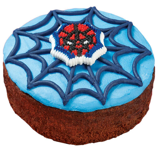 Spider-Man Brownie Rounds