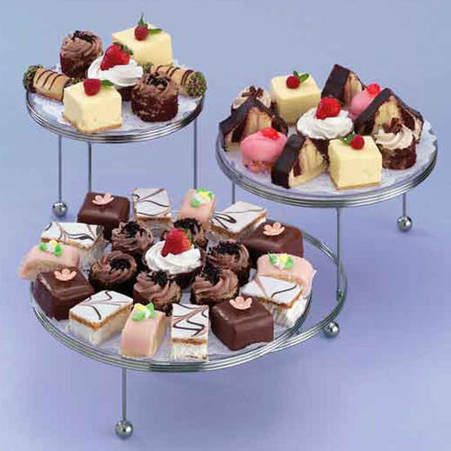 Continental Fare Mini Cakes