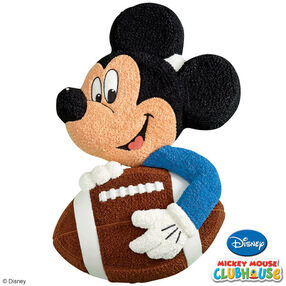 Mickey Mouse Scores a Touchdown! Cake
