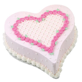Lattice & Rosettes Cake