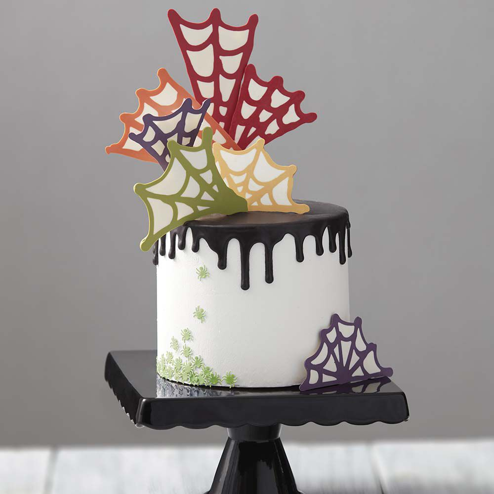 Spinfully Delicious Spider Web Cake Wilton