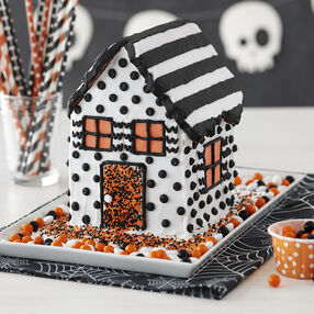 contemporary vibe halloween house