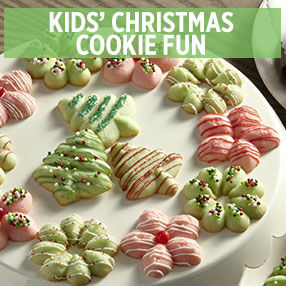 Kids' Christmas Cookie Fun