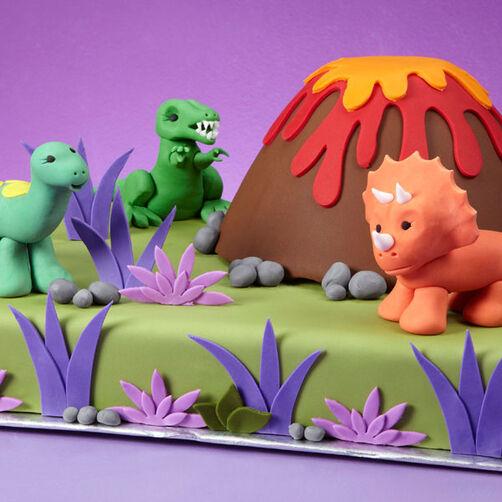 Dino-mite Cake