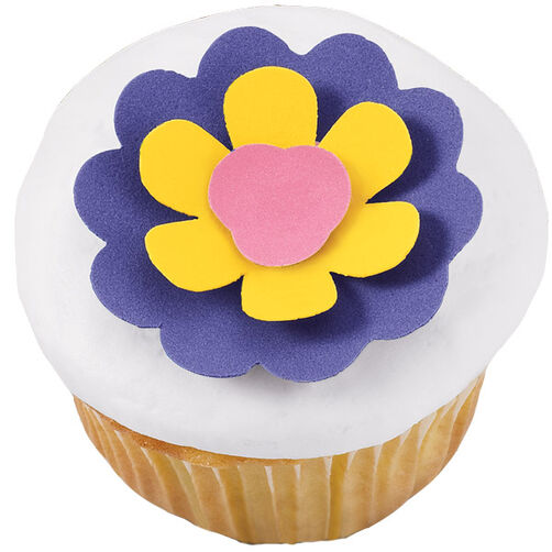 Flower Power Cupcake
